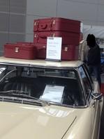 W113 230 SL Koffer Leder Pagode