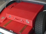 Oldtimer Kofferset Koffersatz Reisegepäck Leder luxus