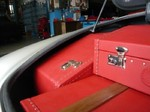 Mercedes Oldtimer SL luxus Leder Koffersatz kofferset koffer reisegepäck fineartluggage w113