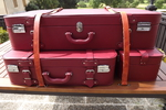 mercedes sl koffer Fineartluggage Oldtimerkoffer Luxus Reisegepäck