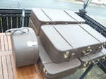 Mercedes 111 112 109 108 110 113Pagode SL luggage suitcase luxus zubehör reisegepäck Koffersatz Kofferset designer edel teuer handarbeit  Koffer